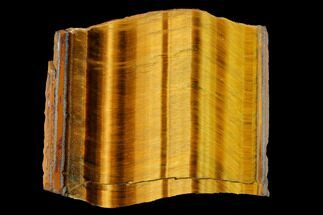 "2.7"" Polished Tiger's Eye Slab - South Africa For Sale, #146399"