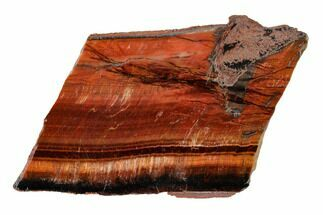 "3.4"" Polished Red Tiger's Eye Slab - South Africa For Sale, #146405"