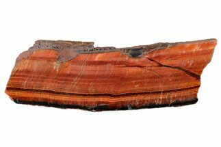 "6.3"" Polished Red Tiger's Eye Slab - South Africa For Sale, #146408"