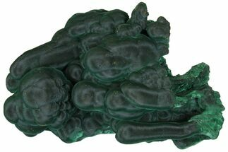 "Buy 4.3"" Silky, Botryoidal Malachite Formation - Shilu Mine, China - #146923"