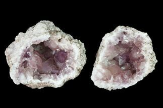 "2.7"" Sparkly, Pink Amethyst Geode - Argentina For Sale, #147941"