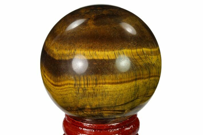 "1.75"" Polished Tiger's Eye Sphere"