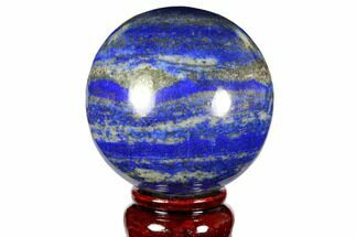 "Buy 2.7"" Polished Lapis Lazuli Sphere - Pakistan - #149362"