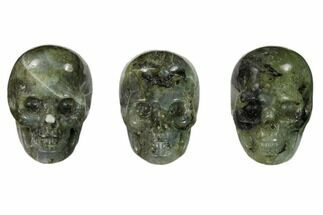 "1.5"" Polished Labradorite Skulls - Madagascar For Sale, #151370"
