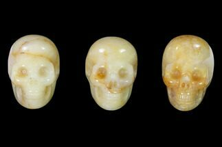 "1.5"" Polished Yellow Aventurine Skulls  For Sale, #151373"