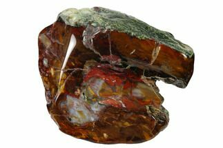 "Buy Colorful, 3.5"" Polished Purple Cow Jasper - McDermitt, Oregon - #152131"