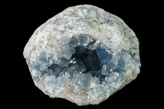"5.2"" Sky Blue Celestine (Celestite) Geode - Madagascar For Sale, #152309"