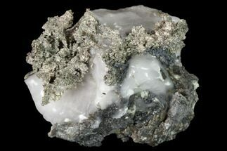 Silver (Ag) & Calcite - Fossils For Sale - #152607