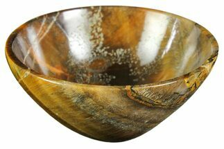 "2.9"" Polished Tiger's Eye Bowl For Sale, #153179"