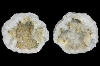 "9.3"" Keokuk Quartz Geode with Calcite - Missouri For Sale, #144776"