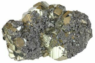 "Buy 2.4"" Sphalerite, Pyrite and Galena Association - Peru - #149719"