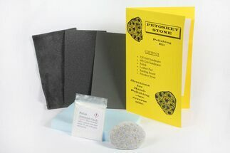 Buy Petoskey Stone (Fossil Coral) Polishing Kits - #156574