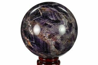 "Buy 3.75"" Polished Chevron Amethyst Sphere - Morocco - #157633"