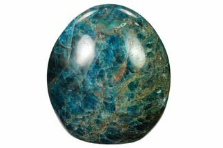 "Buy 3.3"" Free-Standing, Polished Blue Apatite - Madagascar - #157792"