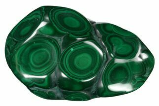 "Buy 3.75"" Beautiful, Polished Malachite Specimen - Congo - #159871"