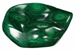 "4.75"" Beautiful, Polished Malachite Specimen - Congo For Sale, #159887"