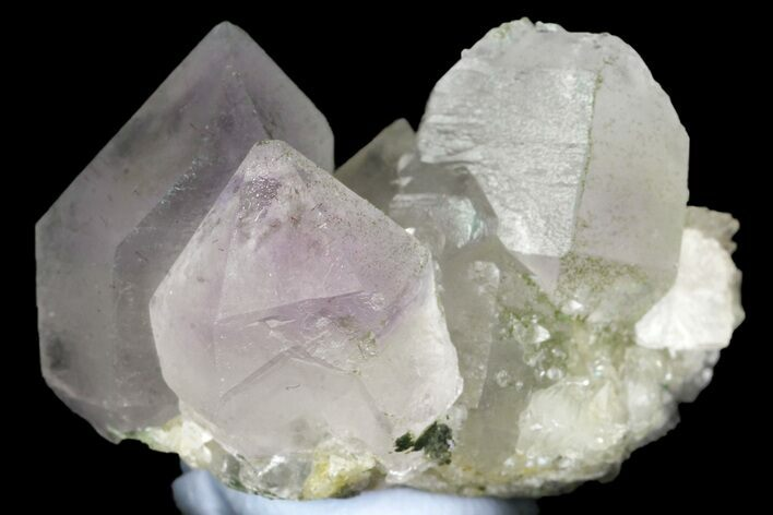 "1.25"" Amethyst and Calcite Crystal Association - China"