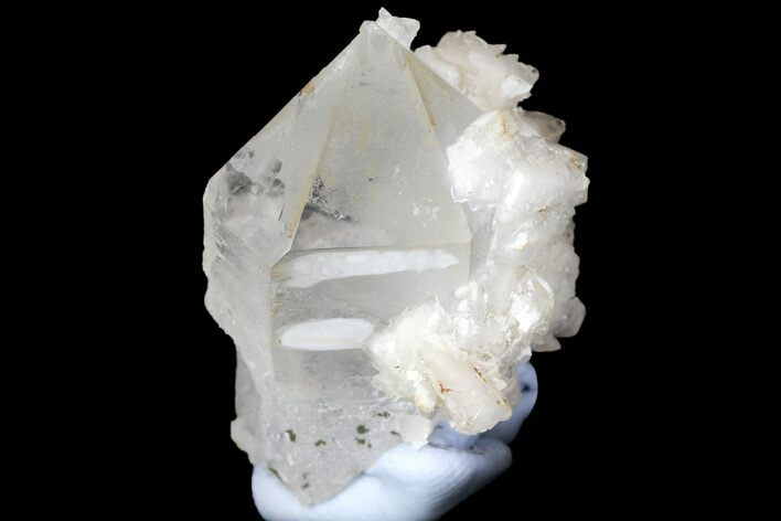 "1.15"" Quartz Scepter Crystal with Dolomite and Calcite - China"