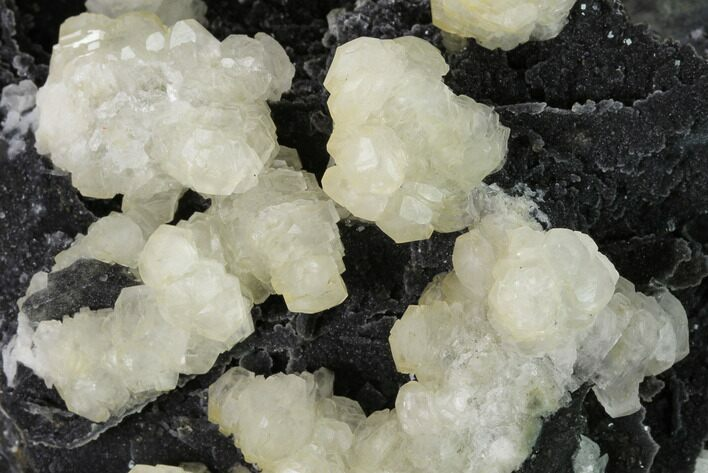 "5.5"" Calcite and Fluorite Crystals on Druzy Quartz - China"