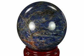 "Buy 4.05"" Polished Sodalite Sphere  - #162697"