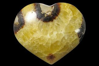 "Buy 3.5"" Polished Septarian Heart - Madagascar - #156664"