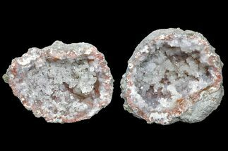 "1.7"" Keokuk ""Red Rind"" Geode with Pyrite - Iowa For Sale, #165767"