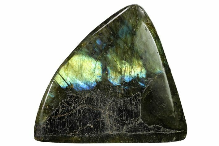 "4.4"" Flashy, Polished Labradorite Free Form - Madagascar"