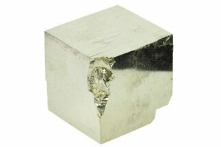 "1.6"" Natural Pyrite Cube - Victoria Mine, Spain For Sale, #168590"