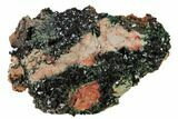 "3.1"" Deep-Green Libethenite Crystal Cluster - #169830-1"