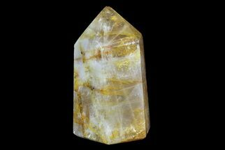 "Buy 4"" Polished Hematite Quartz Obelisk - #170728"