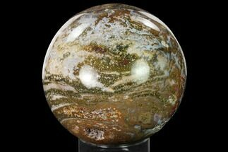 "Buy 4.9"" Multi-Colored Ocean Jasper Sphere - Madagascar - #171019"
