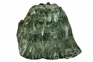 "3.8"" Polished Seraphinite Slab - Siberia For Sale, #174914"