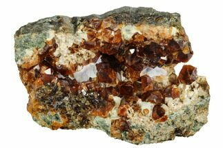 "Buy 3.2"" Gemmy Grossular Garnet Cluster - Vesper Peak, Washington - #175450"