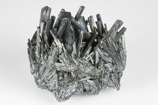 "2.15"" Lustrous, Metallic Stibnite Crystal Spray - China For Sale, #175889"